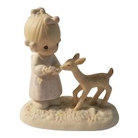 Precious Moments 'to my deer friend' figurine