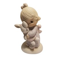 Precious Moments 'Jesus loves me' figurine