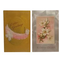 2 Easter Postcards
