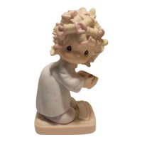 Precious Moments 'the spirit is willing but the flesh is weak' figurine