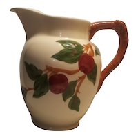 Franciscan ware apple pitcher