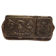 Columbian Exposition coin purse