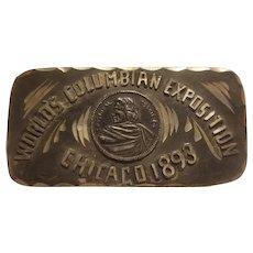 Columbian exposition small trinket box