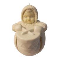 Snow babies little drummer jingle baby ornament