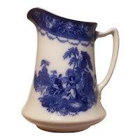 Watteau pattern nwp co pitcher
