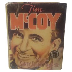 """Big little book """"Tim McCoy And The Sandy Gulch Stampede"""" published 1939"""