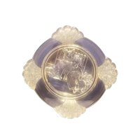 EAPG frolic plate by Gillinder & Sons