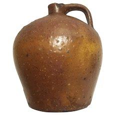 Early 19th century ovoid stoneware jug