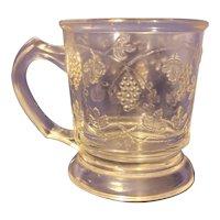 EAPG Vine pattern child's mug