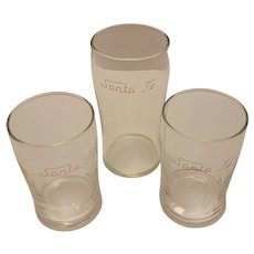 Santa Fe Railroad drinking glasses