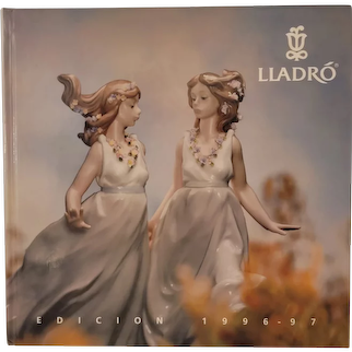 Lladro 1996-97 hard cover catalog and price guide