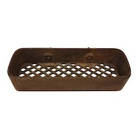 Cast iron implement/tractor tool box