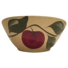 Watt ware apple and three leaves bowl advertising Alta Co-op