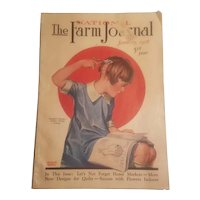 January 1928 issue of The National Farm Journal magazine