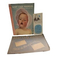 Baby care manual from 1942