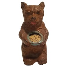 Hubley bear with honey pot bank