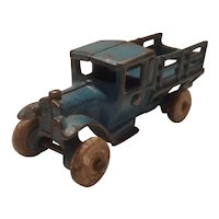 Arcade 213 Ford stake truck 4 3/4 inches