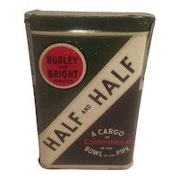 Half and half tobacco pocket tin