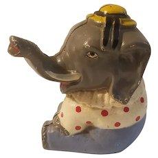 Hubley circus elephant bank