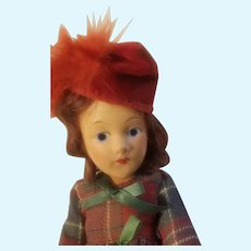 11 Inch composition doll