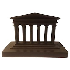 Greek column bookends