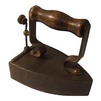 Antique slug iron, swedish