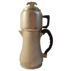 Guardian Service hammered aluminum percolator