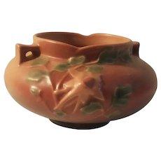 Roseville Columbine pattern bowl