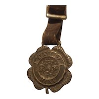 Maine state seal watch fob