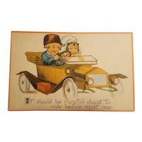 Barton & spooner Dutch children postcard