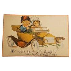 Barton & spooner Dutch children postcard