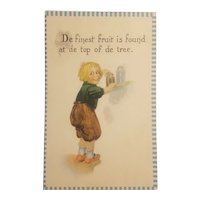 Barton and Spooner dutch boy postcard