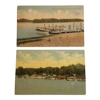 Havana Illinois scenic postcards