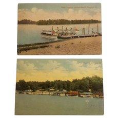 Havana Illinois scenic postcards