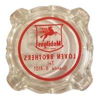 Mobilgas ashtray