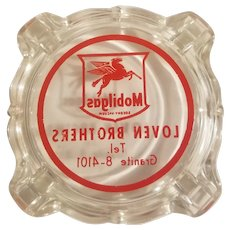 Mobilgas ashtray