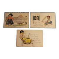Barton and Spooner Dutch children postcards