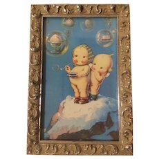 Kewpies dreaming of ice cream print