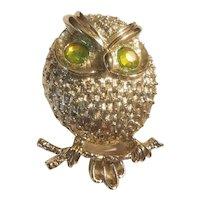 Sarah Coventry owl brooch