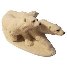 United Design animal classics polar bear trio