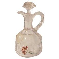 Antique glass cruet