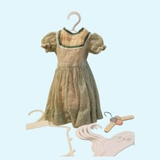 Doll dress and slip with extra hangers