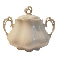 Porcelain MZ Austria sugar bowl