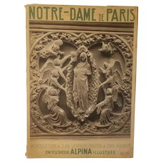 Encyclopedie Alpina Illustree Notre Dame de Paris