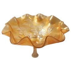 Dugan/Diamond cherries pattern carnival bowl