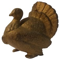 A C Williams cast iron Turkey bank