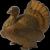 A C Williams cast iron Turkey bank