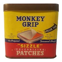 Monkey Grip sizzle vulcanizing patches
