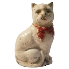 Cast iron cat bank made by John Wright