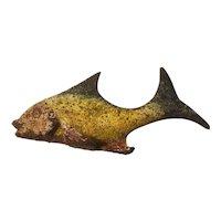 Cast iron fish bottle opener